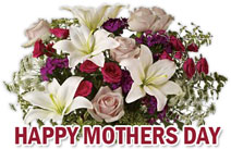 Bouquet clipart mothers day flower Mother's Free Day mother's flowers