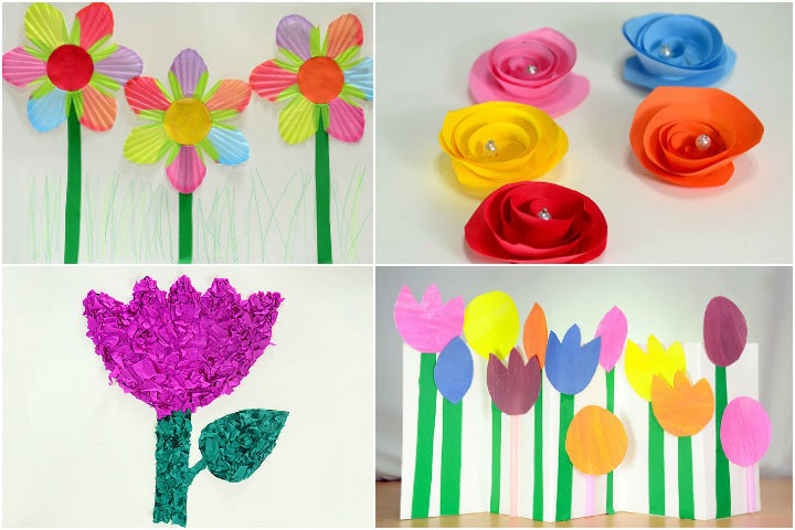Bouquet clipart paper flower Of Make Paper To Kids