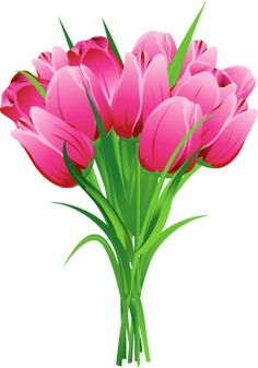 Bouquet clipart pink flower Graphic Art: Pink  png