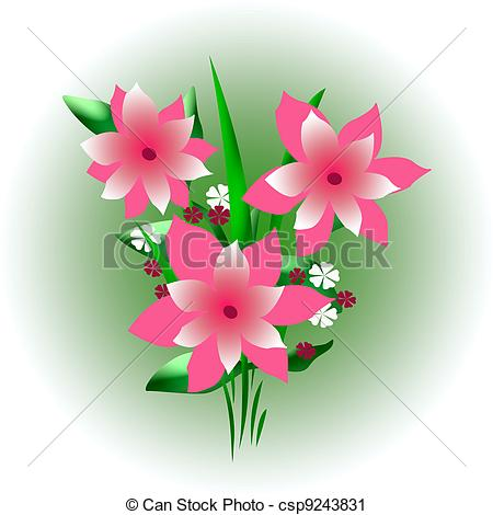 Bouquet clipart pink flower Flowers Download Pink Clipart Pink