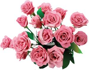 Bouquet clipart pink rose bouquet Art of of collection clip