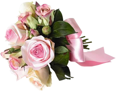 Bouquet clipart pink rose bouquet Available Roses Bouquet download png