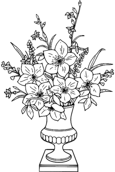 Bouquet clipart sketch Download Drawings Clip Free Drawings