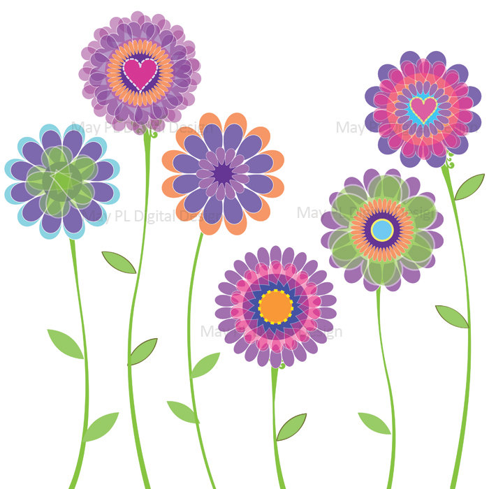 Bouquet clipart spring flower bouquet Free Collection flowers Spring Spring