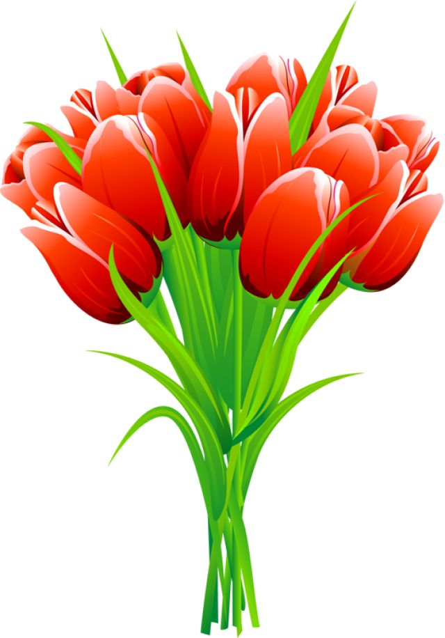 Bouquet clipart spring flower bouquet The Pinterest on Red cliparts