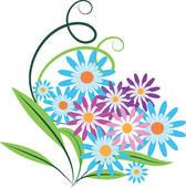 Bouquet clipart spring flower bouquet Clipart Panda  Free flower%20bouquet%20clipart%20black%20and%20white