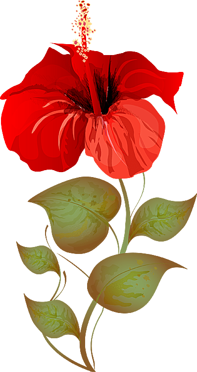 Red Flower clipart religious #3