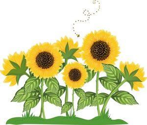 Trippy clipart sunflower #2