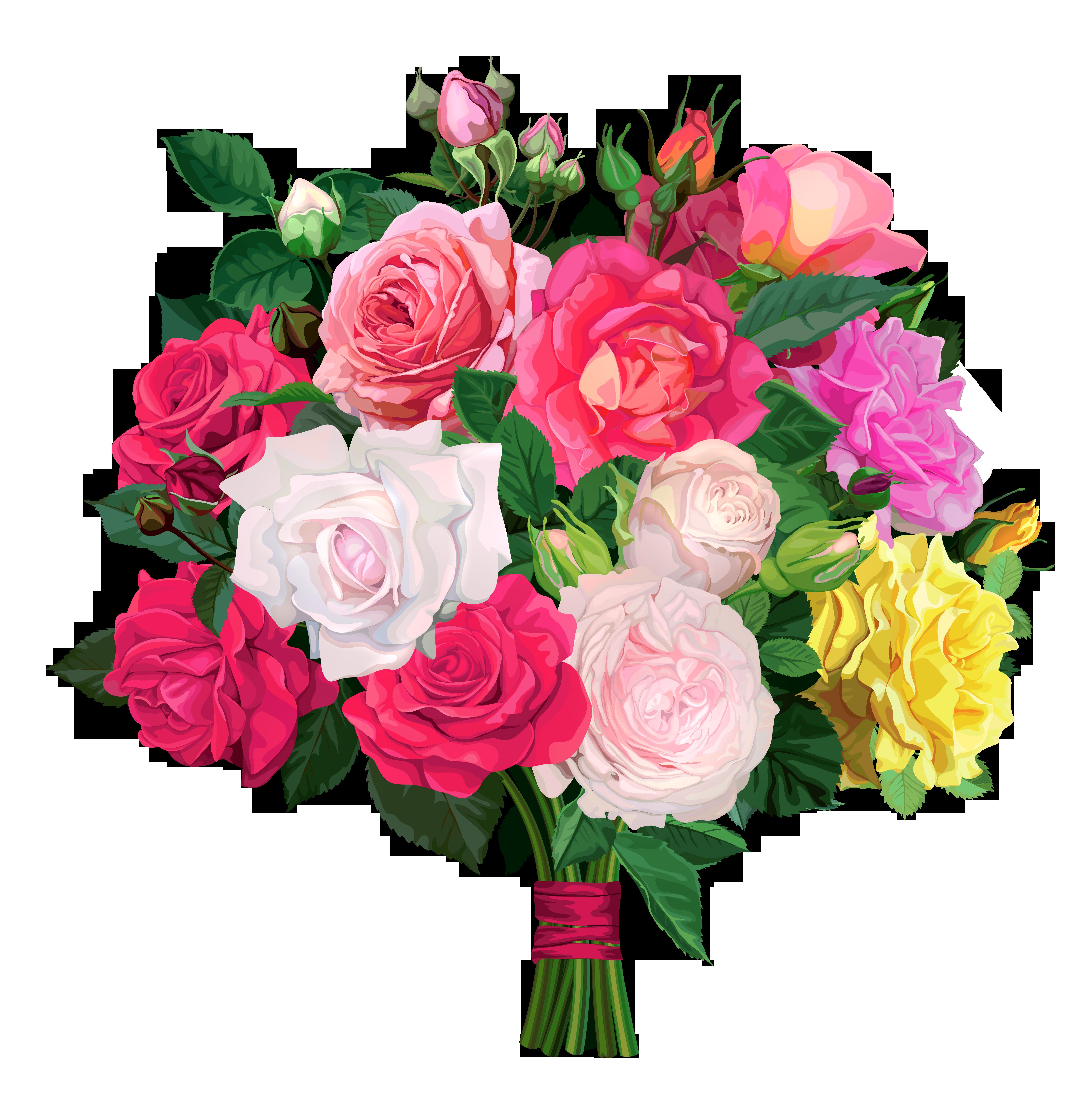 Rose clipart elegant flower #5