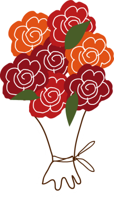 Bouquet clipart flower vector Clip Art  Bouquet Wedding