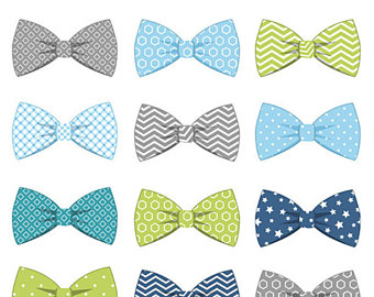Tie clipart orange ribbon Ties Bow Ties Etsy clip