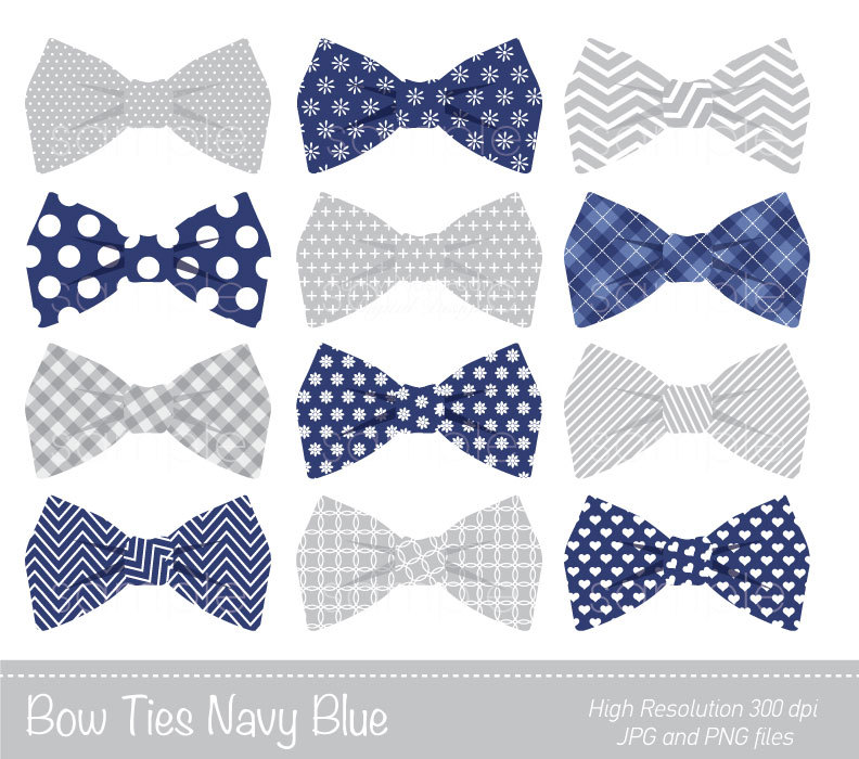 Bow Tie clipart Bow  Personal Bowtie Grey