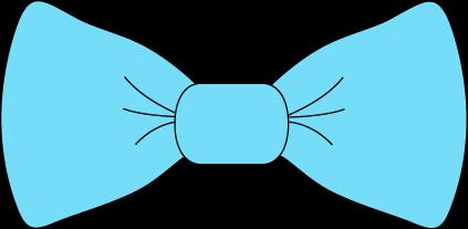 Bow Tie clipart Blue Light Tie Tie Clip