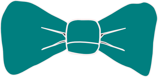 Bow Tie clipart Bow Teal collection Art ties