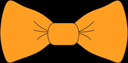 Bow Tie clipart Bow Orange Clip Tie Art