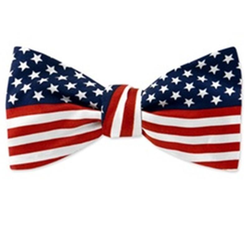 America clipart bow tie Pretied Tie Flag American to