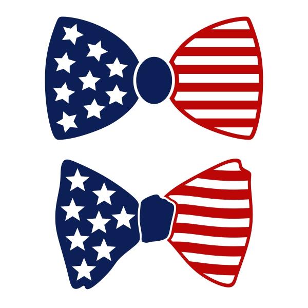 America clipart bow tie Tie Bow US Design Cuttable