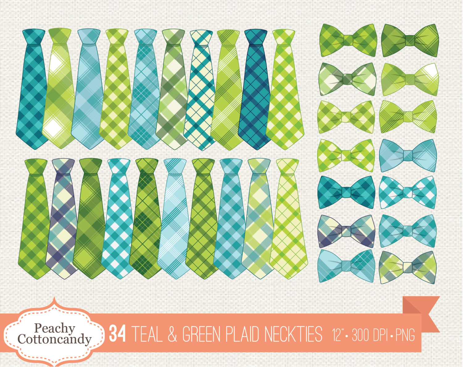 Bow Tie clipart baby blue Is digital Green Clipart Plaid