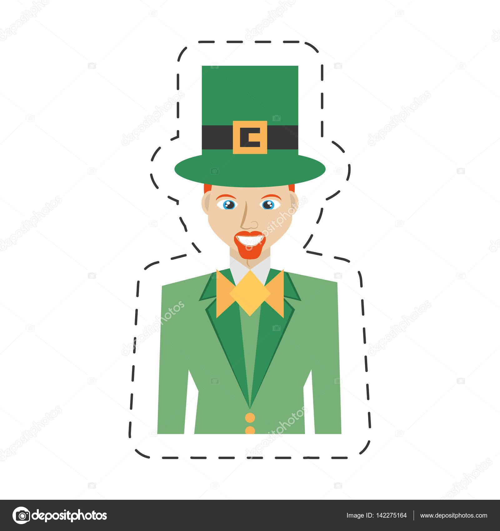 Bow Tie clipart leprechaun Portrait day 10 bowtie Vector