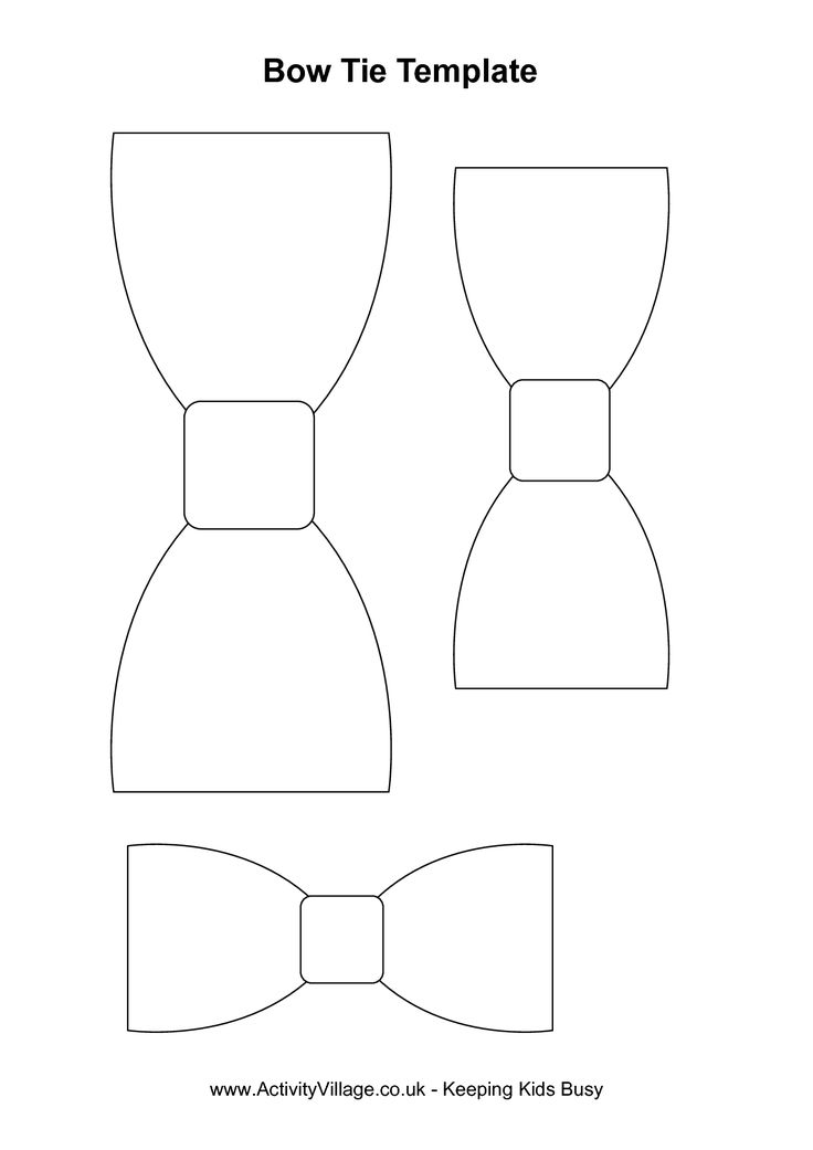 Bow Tie clipart stencil Out Shower Tie index Bow