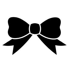 Bow Tie clipart stencil Silhouette tie pumpkin D Pinterest