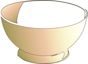 Bowl clipart wide Empty Clipart Bowl Download Empty