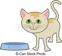 Bowl clipart cat food Dish A its Kitty Kitty