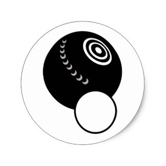 Bowl clipart indoor bowl BOWL LAWN ROUND STICKER Bowling