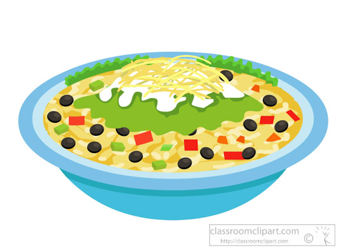 Bowl clipart mexican #8