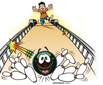 Bowling clipart Free and art ball bowling