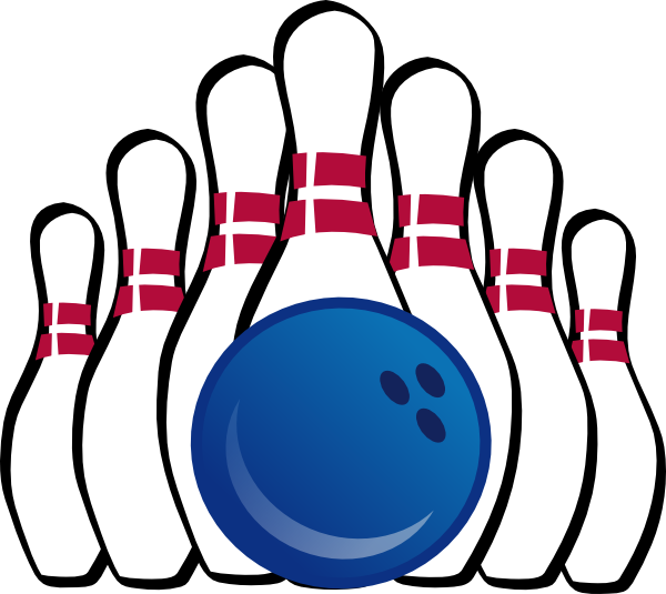 Bowling clipart Free Clipartix printable Pictures bowling