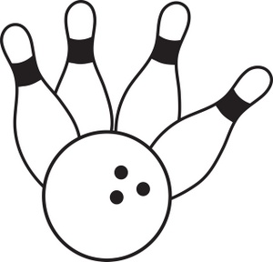 Bowling clipart Free Images Free Clipart bowling