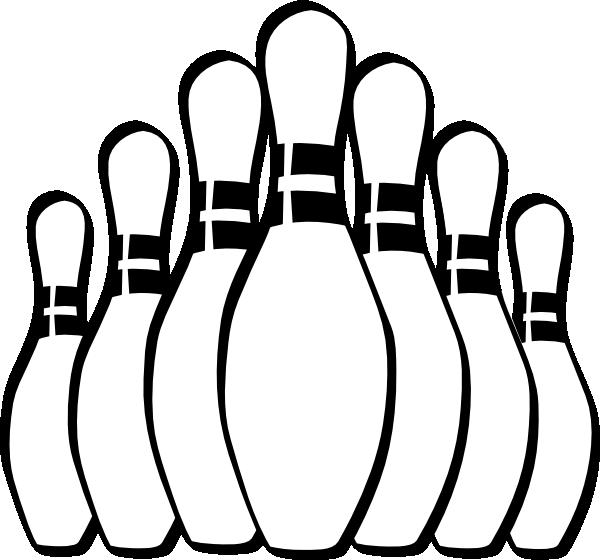 Retro clipart bowling pin #5