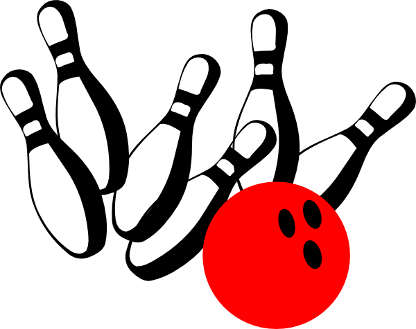 Retro clipart bowling pin #12