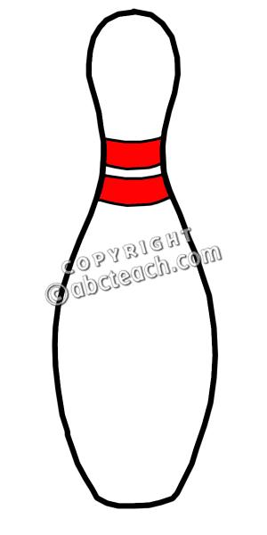 Retro clipart bowling pin #8