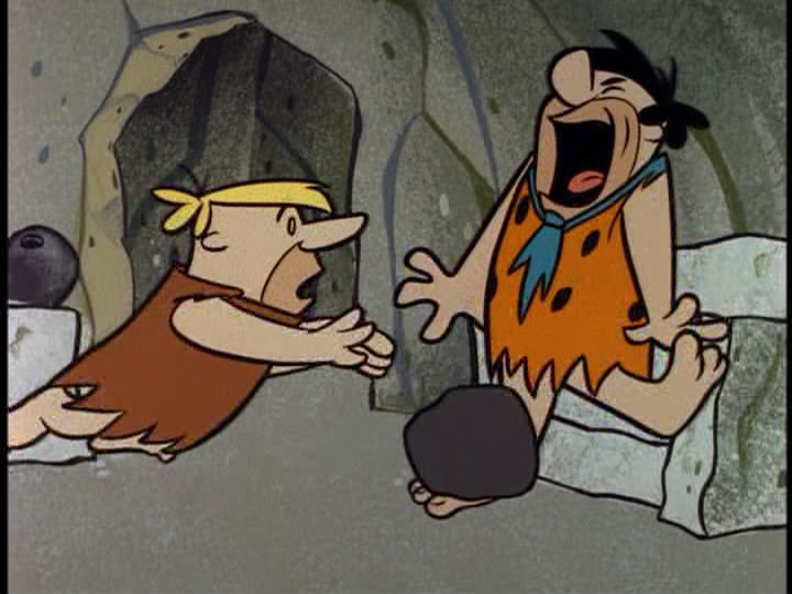 Bowling clipart flintstones  Fred later for week
