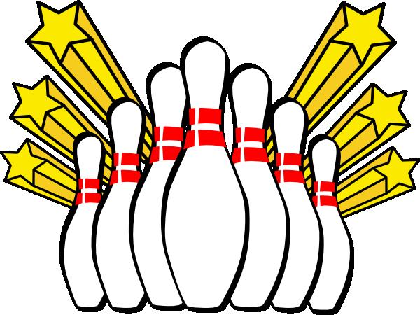 Retro clipart bowling pin #9