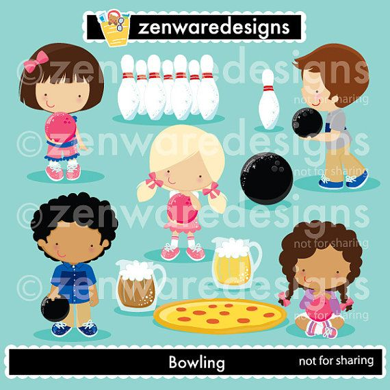 Beer clipart bowling Bowling Clipart Pinterest Zenware 119