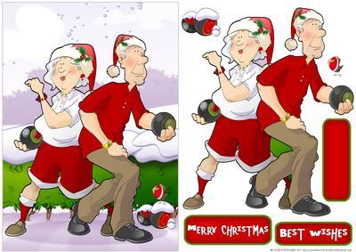 Bowling clipart santa claus Hug Wishlist It! Couple Add