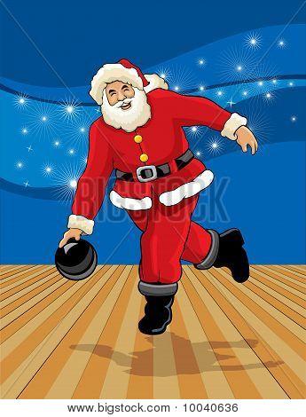 Bowling clipart santa claus Clipart Bowling Santa Download Clipart