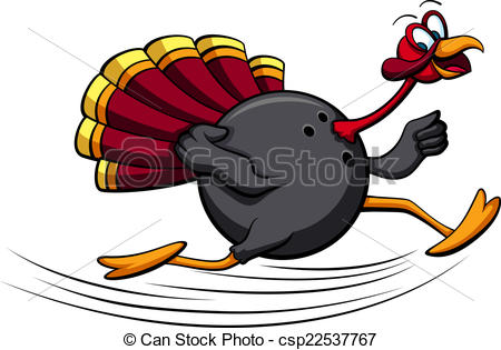 Thanksgiving clipart bowling Bowling  of Art Turkey
