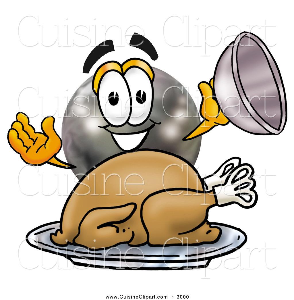 Thanksgiving clipart bowling Cartoon Cuisine Thanksgiving  Serving
