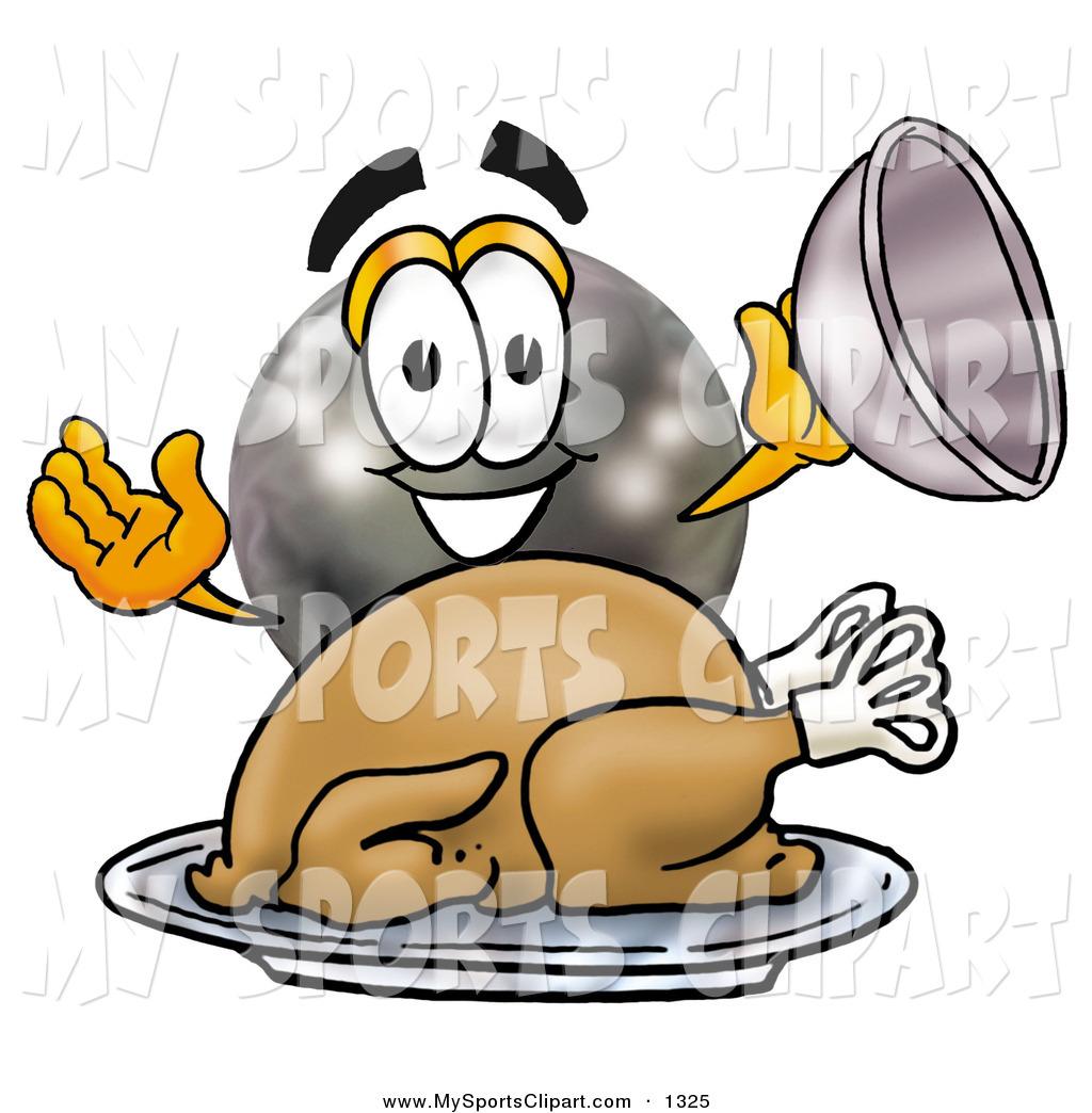 Thanksgiving clipart bowling Cartoon Sports Thanksgiving Cartoon Serving