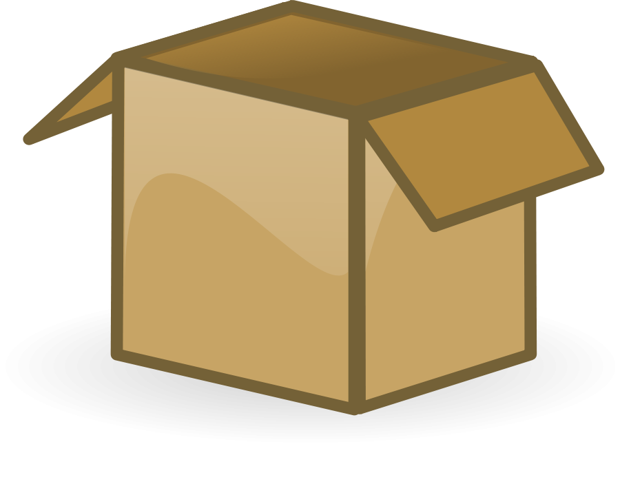 Box clipart File on Vector Clip Box
