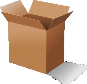 Box clipart Clker Art vector art Box