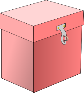 Box clipart Vector Box art royalty Art