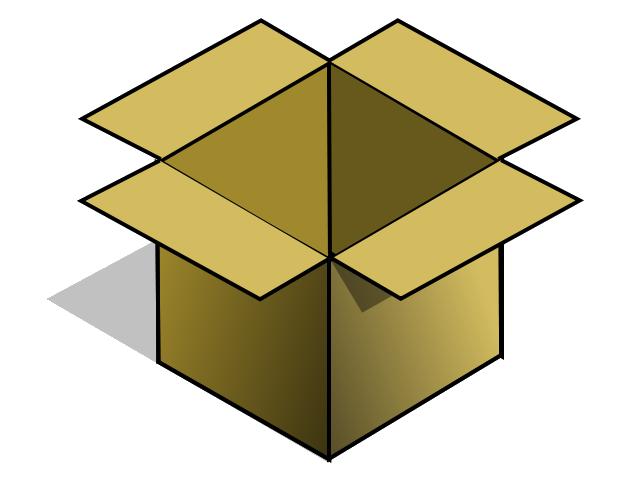 Box clipart — Box (6063) Images Clipart