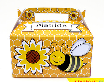 Bee Hive clipart box Honey collection clipart Clip Honey