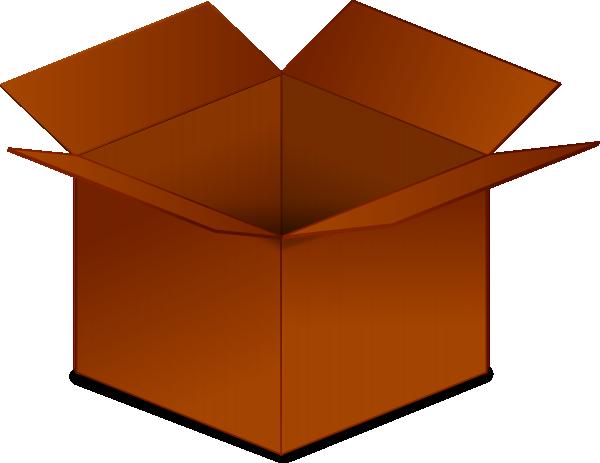 Box clipart cartoon Box Inspiration Cardboard Art Clipart