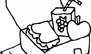 Box clipart coloring Images lunch%20box%20clipart%20black%20and%20white Panda Free Lunch